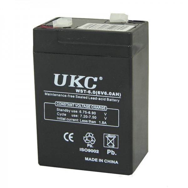 Аккумуляторная батарея для торговых весов и прочего оборудования  BATTERY RB 640 6V 4A UKC