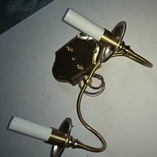 Медная классическая бра (75-W6117 CU) 1 лампа, фото 3