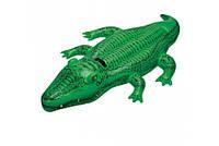Детский надувной плотик для катания Intex 58562 Крокодил