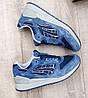 Чоловічі сині кросівки Asics Gel Lyte III. ТІЛЬКИ НА НОГУ 25.5 ДО 26СМ, фото 2