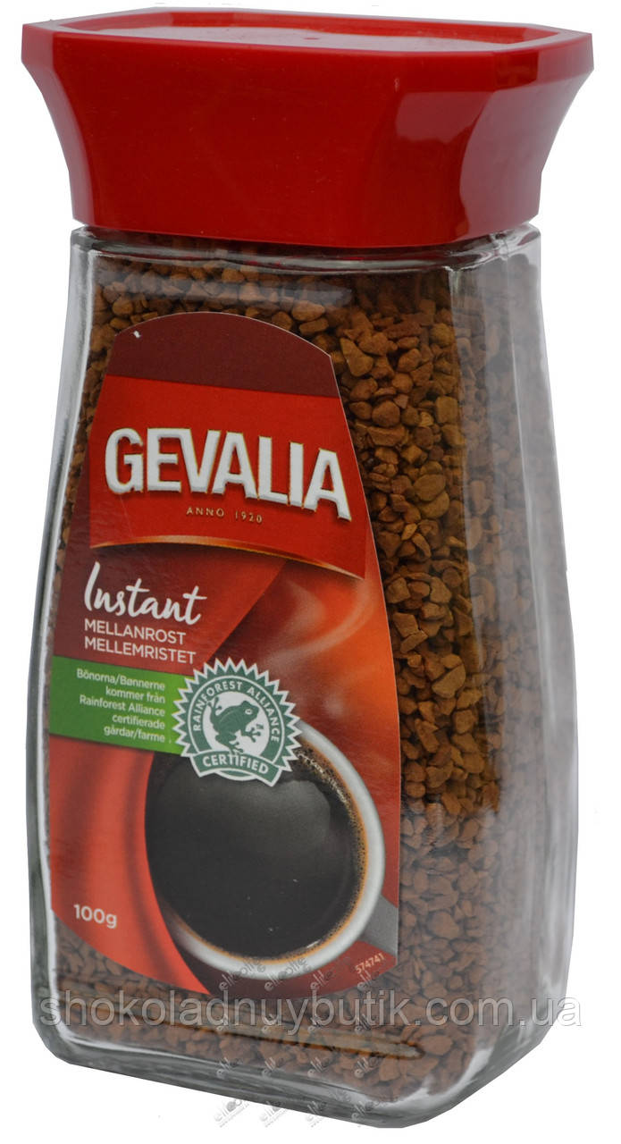 Кофе растворимый Gevalia Instant 100г