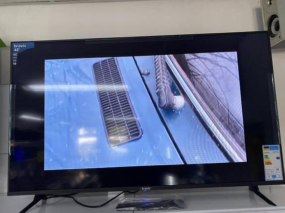 Телевизор 43 Bravis LED-43D5000 (FullHD1920x1080 / 60 ГЦ / DVB-T2 / C2 / SmartTV)), фото 2