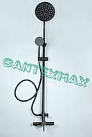 Колонна душевая из нержавеющей стали Mixxus SUS 003 J Black