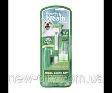 TropiClean Fresh Breath Набор для чистки зубов для собак малых пород