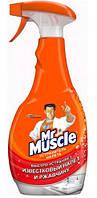 Mr. Muscle средство для очистки ванной комнаты и туалета Устранитель налета 500мл