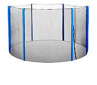 Сетка безопасности для батута д.305 в.182см синяя