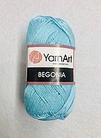 Пряжа Begonia 50гр - 169м (5353 Бирюзовый) YarnArt
