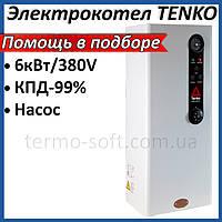Электрический котел Tenko Стандарт 6 кВт, 380В Sprut. Электрокотел Тенко для отопления дома, квартиры