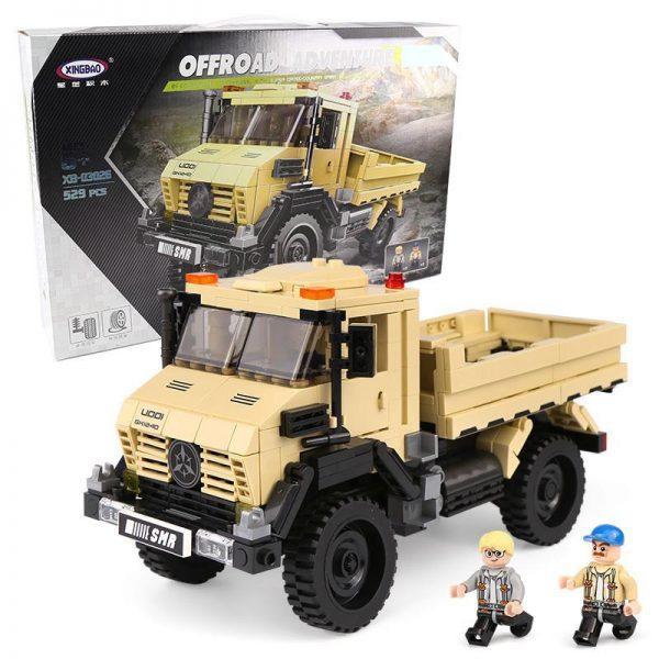 Конструктор грузовик XINGBAO XB-03026 529дет.
