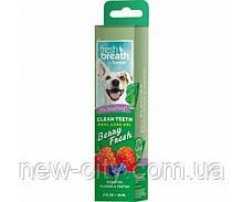 TropiClean Гель Fresh Breath Гель для ухода за ротовой полостью собак и кошек ягоды 59мл