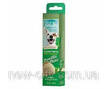 TropiClean Fresh Breath Гель для ухода за ротовой полостью собак и кошек с ванилью и мятой 59мл