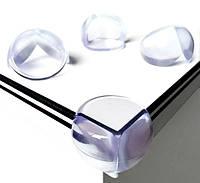 Защитный Силиконовый Уголок 1 шт 2,5 см на Бизикуб Бизиборд Мебель Мягкий Угол Накладки на Углы для детей, фото 1