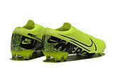 Бутсы Nike Mercurial Vapor XIII Elite FG light green/black, фото 2