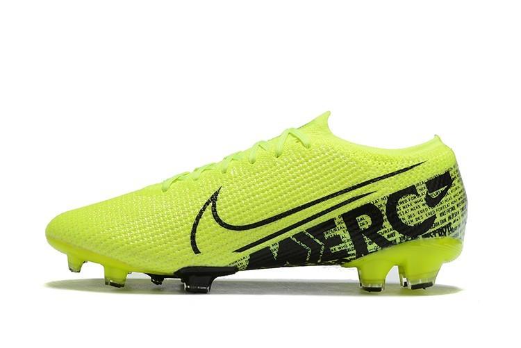 Бутсы Nike Mercurial Vapor XIII Elite FG light green/black