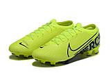Бутсы Nike Mercurial Vapor XIII Elite FG light green/black, фото 3