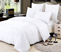 Двоспальне постільна білизна на резинці 180*220 бавовна (14578) TM KRISPOL Україна