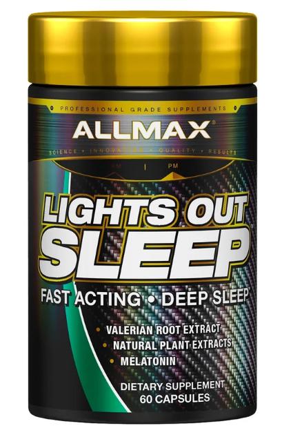AllMax Lights Out Sleep 60 caps