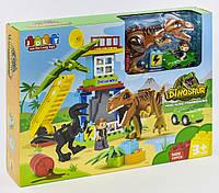 Конструктор для детей JDLT Dinosaur 5409 Динозавры 43 эл. крупные детали