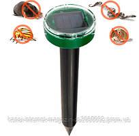 Відлякувач гризунів кротів і комах на сонячній батареї Garden Pro