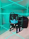 ✷ОТКАЛИБРОВАН В 0мм✷50м✷Лазерный нивелир DEKO 3D green+КРОНШТЕЙН- аналог Bosch gll 380g, фото 2