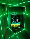 ✷ОТКАЛИБРОВАН В 0мм✷50м✷Лазерный нивелир DEKO 3D green+КРОНШТЕЙН- аналог Bosch gll 380g, фото 3