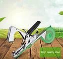 Степлер+ремкоплект (нож,пружина,болт) для подвязки всех видов садовых и огородных растений (КРАСНЫЙ), фото 3