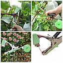 Степлер+ремкоплект (нож,пружина,болт) для подвязки всех видов садовых и огородных растений (КРАСНЫЙ), фото 4