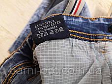 Шорты джинсовые на мальчика оптом, KeYiQi , 134-164 рр, фото 3