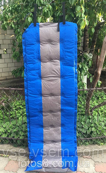 Самонадувний матрац, саме надувний килимок в намет, розмір 180 х 60 х 10 див.