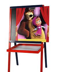 Мольберт Маша и Медведь Bambi (Финекс Плюс)
