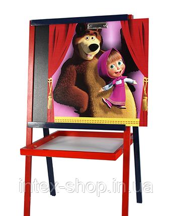 Мольберт Маша и Медведь Bambi (Финекс Плюс), фото 2