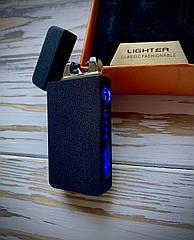 Зажигалка USB Graving 2EI Black Crackle
