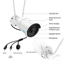 Reolink RLC-410W 4MP 2560x1440 наружная WiFi камера HD ip-камера