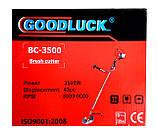 Бензокоса Good Luck BC-3500 2 насадки + ремень-рюкзак), фото 6