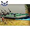 Моторная лодка Bark BT-310 с реечным настилом трехместная надувная лодка ПВХ, фото 3