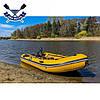 Килевая лодка Bark BT-360S с жестким дном шестиместная надувная лодка ПВХ, фото 2
