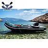 Килевая лодка Bark BT-360S с жестким дном шестиместная надувная лодка ПВХ, фото 3