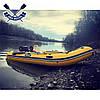 Килевая лодка Bark BT-360S с жестким дном шестиместная надувная лодка ПВХ, фото 6
