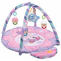 Коврик детский музыкальный с игрушками Baby Mix Мишка HS-789-13A