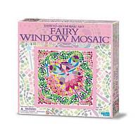 Детский набор для творчества 4M Мозаика на окно (в ассортименте (Фея/Русалка/Принцесса)