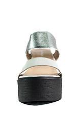 Босоножки женские LorisBottega СФ L-1466 черно-серебрянные (40), фото 2