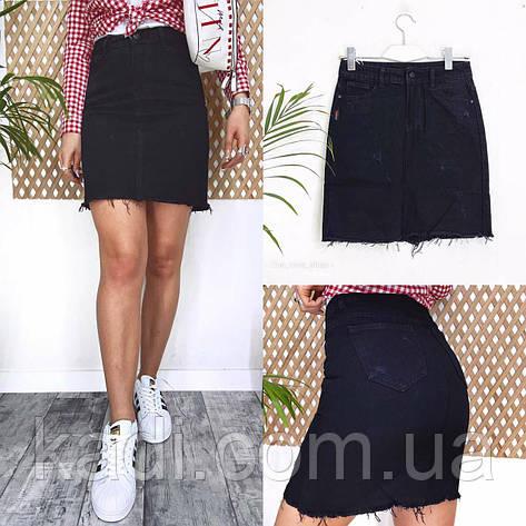 Базовая джинсовая юбка, фото 2