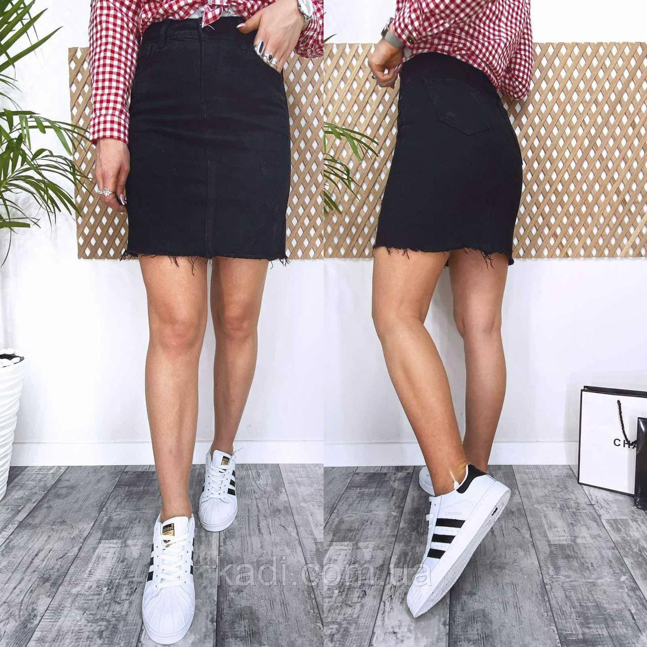 Базовая джинсовая юбка
