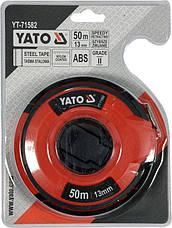 Лента измерительная 50 м Yato Yt-71582, фото 3