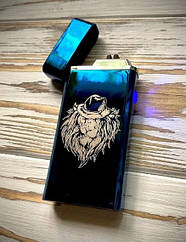 Зажигалка USB Graving 2EI Blue