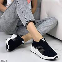 Женские кроссовки на платформе, текстильные, хит сезона, ОВЛ 11274, фото 1