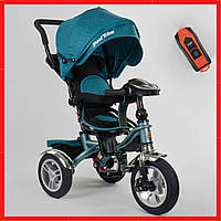 Велосипед 3-х колёсный детский Best Trike  Синий велосипед для мальчика от 1 года  Велосипед коляска