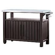 Стол для барбекю и гриля Keter Unity 183 л коричневый