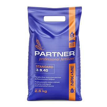 Универсальное удобрение Partner Standard NPK 3.9.40+S+MG+МЕ (2,5 кг)