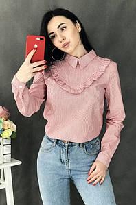 Блуза женская красная 3147